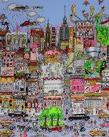 I'll Take Manhattan 3-D Limited Edition Print by Charles Fazzino - 0