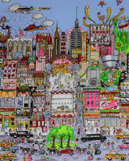 I'll Take Manhattan 3-D Limited Edition Print - Charles Fazzino