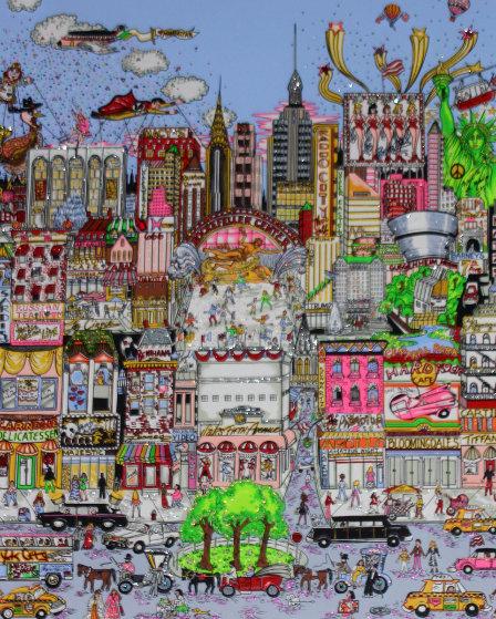 I'll Take Manhattan 3-D Limited Edition Print by Charles Fazzino