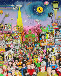 Remembering 60's T.V. 3-D Limited Edition Print - Charles Fazzino