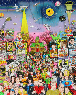 Remembering 60's T.V. 3-D Limited Edition Print by Charles Fazzino