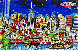 Lights of Hope And Remembrance 3-D 2003 New York  Limited Edition Print by Charles Fazzino - 0