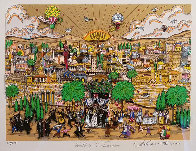 Wedding in Jerusalem 1994 3-D Limited Edition Print by Charles Fazzino - 1