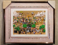Wedding in Jerusalem 1994 3-D Limited Edition Print by Charles Fazzino - 2