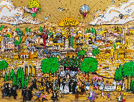 Wedding in Jerusalem 1994 3-D Limited Edition Print by Charles Fazzino - 0