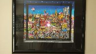 Mangia Mullberry Street 3-D Limited Edition Print by Charles Fazzino - 1