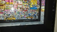 Mangia Mullberry Street 3-D Limited Edition Print by Charles Fazzino - 3