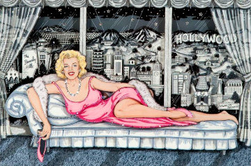 Essence of Marilyn 3-D Limited Edition Print - Charles Fazzino