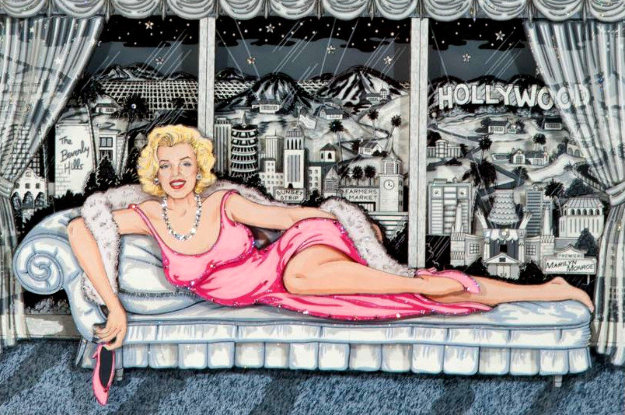 Essence of Marilyn 3-D Limited Edition Print by Charles Fazzino