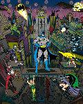 Batman, the Dark Knight AP 3-D 2009 Limited Edition Print - Charles Fazzino