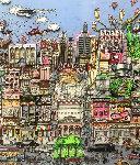 I'll Take Manhattan 3-D 1991 Limited Edition Print - Charles Fazzino