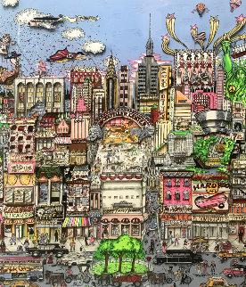 I'll Take Manhattan 3-D 1991 Limited Edition Print by Charles Fazzino