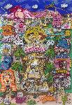 Rock Vegas AP 1996 3-D Limited Edition Print - Charles Fazzino