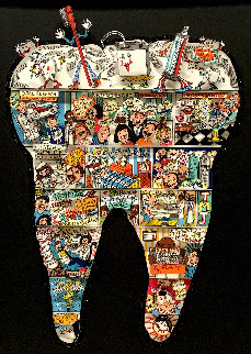 Tooth Fairy Tales 3-D Limited Edition Print - Charles Fazzino