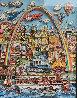 Meet Me in St. Louis 3-D original 1996 Original Painting by Charles Fazzino - 0