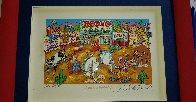 Rodeo Round Up 3-D Limited Edition Print by Charles Fazzino - 1