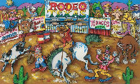 Rodeo Round Up 3-D Limited Edition Print by Charles Fazzino - 0