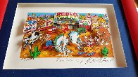 Rodeo Round Up 3-D Limited Edition Print by Charles Fazzino - 4