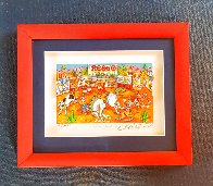 Rodeo Round Up 3-D Limited Edition Print by Charles Fazzino - 5