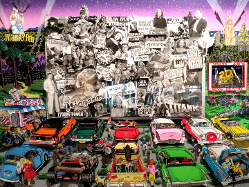 20th Century Fox At the Drive In 2005 3-D Limited Edition Print by Charles Fazzino
