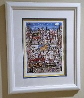 Rockefeller Center 3-D 1991 Limited Edition Print by Charles Fazzino - 1