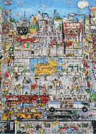 Rockefeller Center 3-D 1991 Limited Edition Print by Charles Fazzino - 0