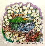 Aloha and Mahalo 2005 3-D Limited Edition Print - Charles Fazzino