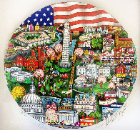 Our Salute to Washington 3-D Limited Edition Print by Charles Fazzino - 0