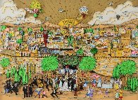 Wedding in Jerusalem 3-D 1994 Limited Edition Print by Charles Fazzino - 0