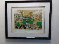 Wedding in Jerusalem 3-D 1994 Limited Edition Print by Charles Fazzino - 1