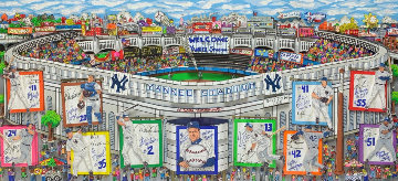 In a Yankee State of Mind 2006 3-D Limited Edition Print - Charles Fazzino