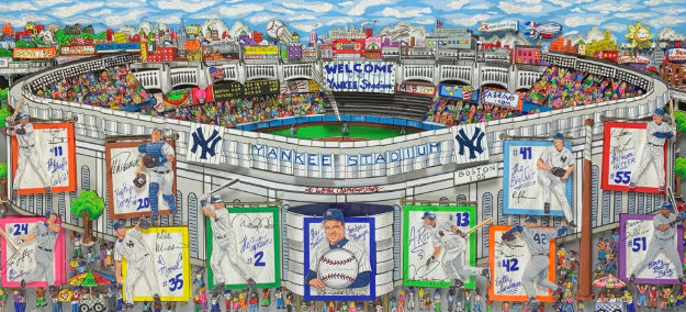 In a Yankee State of Mind 2006 3-D Limited Edition Print by Charles Fazzino