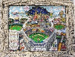 Yankees Deluxe Celebration 100 Years 3-D 2003 Limited Edition Print - Charles Fazzino