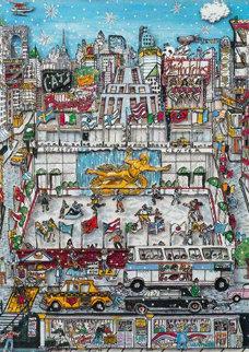Rockefeller Center 3-D 1991 Limited Edition Print - Charles Fazzino