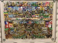 A Penny Saved is a Penny Earned 3-D Limited Edition Print by Charles Fazzino - 1