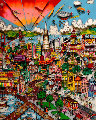 I Left My Heart (San Francisco) 1992 3-D  Limited Edition Print - Charles Fazzino