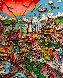 I Left My Heart (San Francisco) 1992 3-D  Limited Edition Print by Charles Fazzino - 0