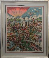 I Left My Heart (San Francisco) 1992 3-D  Limited Edition Print by Charles Fazzino - 1
