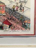 I Left My Heart (San Francisco) 1992 3-D  Limited Edition Print by Charles Fazzino - 5