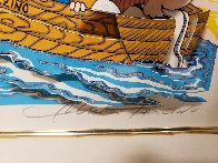 Betty's Booping, Popeye's Swooning on Coney Island Beach 3-D 1995   Limited Edition Print by Charles Fazzino - 5