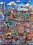 Miami Heat 3-D Limited Edition Print - Charles Fazzino