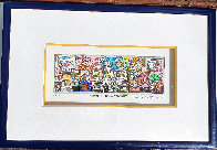There's a Mouse in the House 3-D 1999 Limited Edition Print by Charles Fazzino - 3