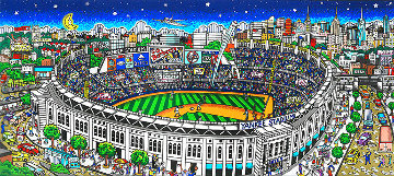 Yankee Stadium 3-D   Limited Edition Print - Charles Fazzino