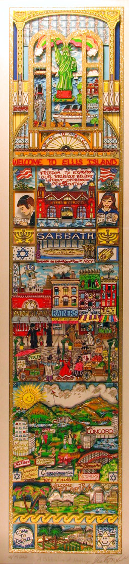 Celebration of Heritage 3-D Limited Edition Print by Charles Fazzino