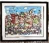 Dancing on Delancey  3-D 1990 Limited Edition Print by Charles Fazzino - 1