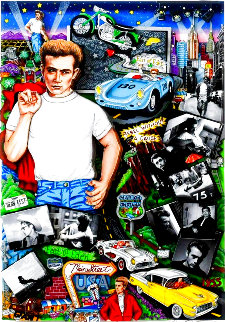 Forever James Dean 2005 3-D Limited Edition Print - Charles Fazzino