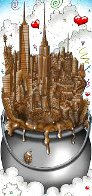A Melting Pot of Chocolate   NYC 3-D 2016 Limited Edition Print by Charles Fazzino - 0