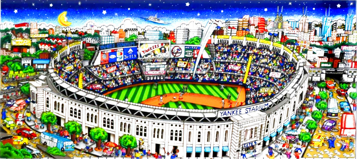 Pinstripe Pride 2014 3-D New York Limited Edition Print by Charles Fazzino