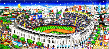 Pinstripe Pride 2014 3-D New York Limited Edition Print - Charles Fazzino