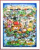 There's Music...NY, NJ, and Long Island Too! 3-D 2006 Limited Edition Print by Charles Fazzino - 2